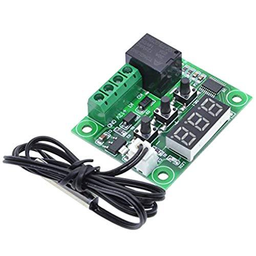 Jinzuke LCD W1209 12V DC Digitale -50-110 ? Gamma di Controllo di Temperatura del termostato Interruttore modulo sensore