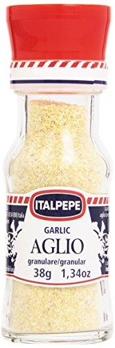 Aglio granulato (250g), aglio macinato, 100% naturale di aglio essiccato delicatamente, naturalmente senza additivi, vegano