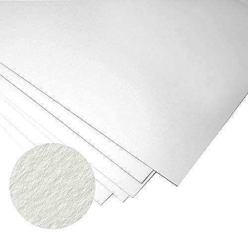 Fabriano-Carta per doccia, colore bianco, per Printmaking, 250 g/mq, 10 fogli di carta 50 x 70 cm 2