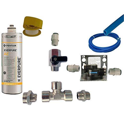 Everpure Kit Installazione Sottolavello con Testata Ql2b e Filtro AC