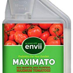 Envii Maximato – Fertilizzante Organico per pomodori migliora la Crescita delle Piante e Aumenta la resa – 500ml