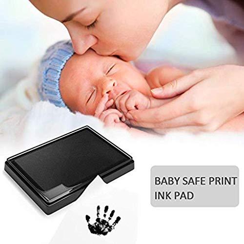Tamponi di inchiostro per impronte e impronte neonato, Inchiostro per impronte di mani e piedi per bambini, Kit impronte bambini Inchiostro, Tampone di inchiostro di mani 7