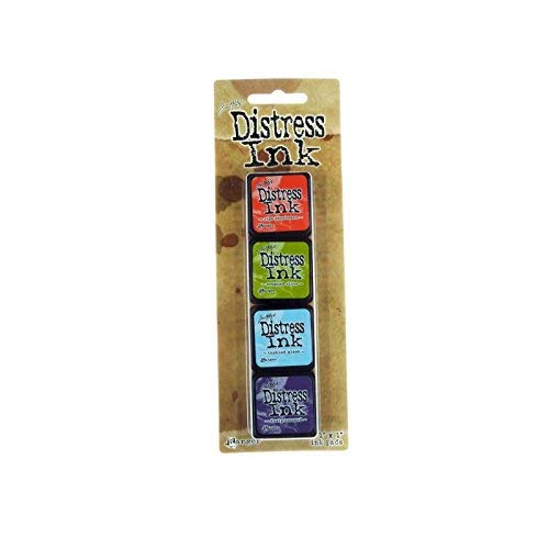 Distress Mini Ink Kits-Kit 8