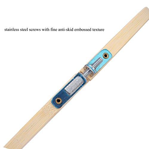 QH-Shop Cerchio da Ricamo, bambù Ricamo Kit Telai Assortiti Rotondi per DIY Arte Mestiere Maneggevole Cucire 5packs 7