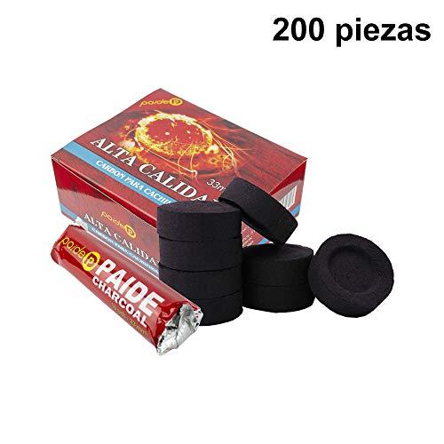 [Pack] rotoli di carbone per narghilè, narghilè, narghilè, narghilè e incensiere (200) 2