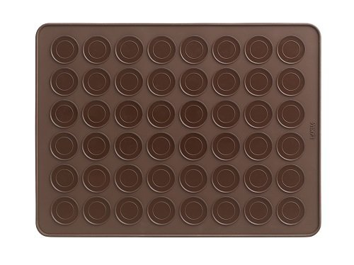 Set Per Macarons: Teglia Tappetino/Stampo in Silicone + 1 Dosatore + 3 Ugelli, Kit per macaroons pasticceria francese by TARGARIAN 5
