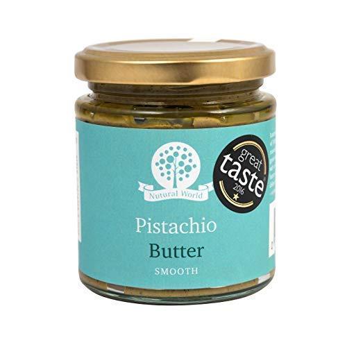 Nutural World – Burro di Pistacchio Liscio (170g) Vincitore del Premio Grande Gusto