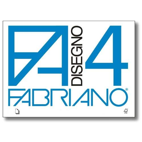 Fabriano F4 05000597, Album da Disegno, Formato 24 x 33 cm, Fogli Ruvidi, Grammatura 200gr/m2, 20 Fogli 2