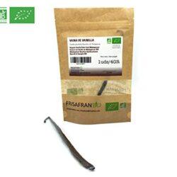 Vaniglia – 15 grammi – Vaniglia del Madagascar (Vanilla planifolia) 15-18 cm – 4-7 baccelli per tubo