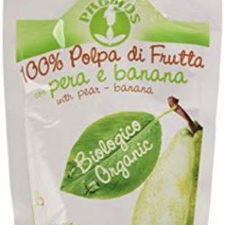 Probios Polpa Pera e Banana Doypack Bio – Confezione da 18 x 100 g