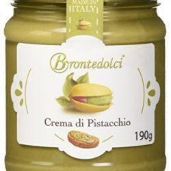 Crema di Pistacchio con il 40% di pistacchi di Sicilia, ideale per la colazione, ma soprattutto per farcire dolci – 190g