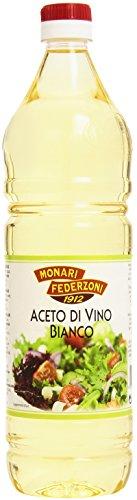 Monari Federzoni – Aceto Di Vino Bianco, Acidità 6% – 6 pezzi da 1 l [6 l]