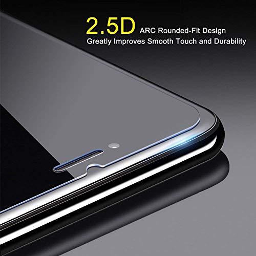 Ramcox Galaxy A10 Vetro Temperato, 9H Antiurto Pellicola Protettiva in Vetro Temperato per Samsung Galaxy A10, Alta Trasparenza, Alta Definizione, 1 Pezzi 5