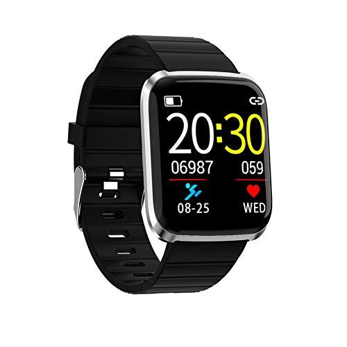 SinceY Orologio Fitness Uomo, Orologio da Polso Sportivo Orologio Smart IP67 Impermeabile, Tracker attività Fitness con Cardiofrequenzimetro 2
