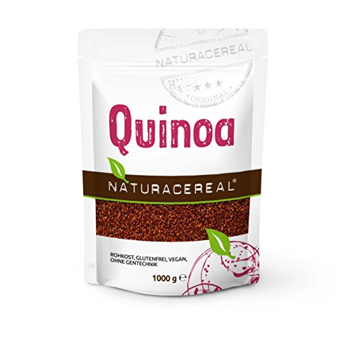 Quinoa Rossa 1000 gr – NATURACEREAL – l'antica saggezza, la vostra nuova gioia