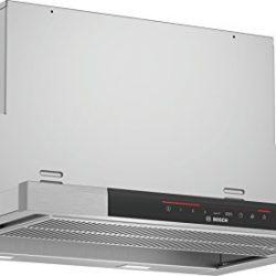 Bosch Serie 8 DFS068J53 cappa aspirante 840 m³/h Semintegrato (semincassato) Acciaio inossidabile A+
