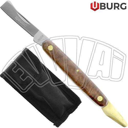 Volwco – Confezione da 4 cunei per tagliare alberi da 14 cm in plastica ABS, cuneo per taglio albero, attrezzi per sega a catena