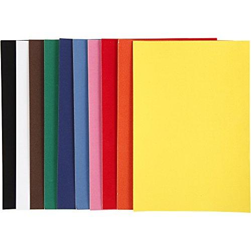 Carta velour A4 21×30 cm 140 gr Colori: 50 fogli. 2
