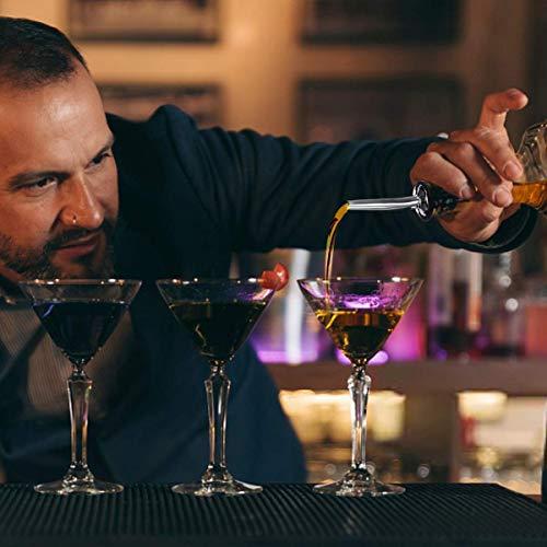 Baban set cocktail 10 pezzi,kit barman,Shaker per Cocktail 750ML set cocktail professionale,Compreso Squisita cornice in legno;Shaker per Cocktail;completo Set di Regalo 6