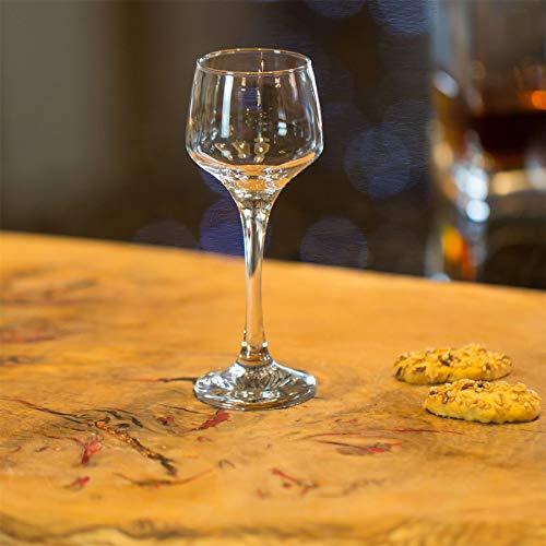 Argon Tableware Bicchiere da Sherry/liquore – in Vetro – 80 ml – 6 Pezzi 9