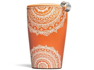 Tea Forte' Kati – Arancio – Chakra (Kati Cup – Chakra) Tazza Termica con INFUSORE