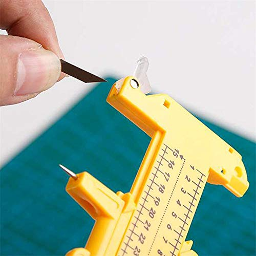 Compass Circle Cutter, Alta Precisione Circolare Draw Strumento di Immagine per Il Taglio del Cuoio Della Carta di Carta (Cut Diametro 10mm 300mm) 5