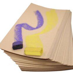 Uart M-160271 – Carta abrasiva per Pastello da 22,9 cm, n. 280, Confezione da 10