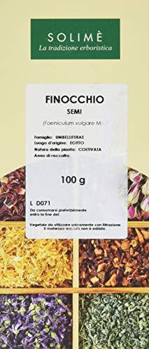 250g di semi di finocchio interi BIO, senza additivi – finocchio aromatico come base per un benefico tè di finocchio BIO – confezionato in un imballaggio ecologico
