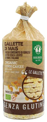 Probios Gallette di Mais con Sale senza Glutine  – 12 confezioni da  100 gr