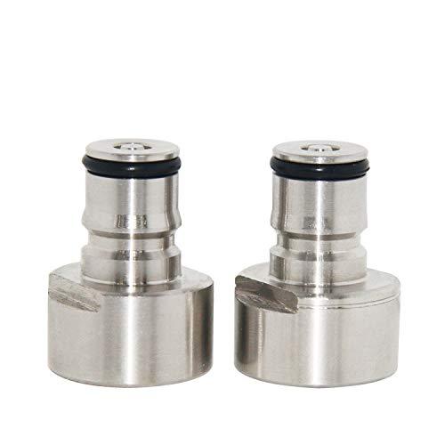 Accoppiatore in acciaio inox da Sankey a Ball Lock Quick Disconnect kit di conversione per birra casalinga