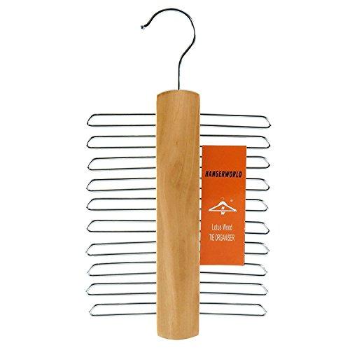 mDesign Set da 2 Stampella con ganci appendiabiti multifunzione – Gruccia appendiabiti salvaspazio per l'asta dell'armadio – Guardaroba metallo ideale per borse, giacche e molto altro 2