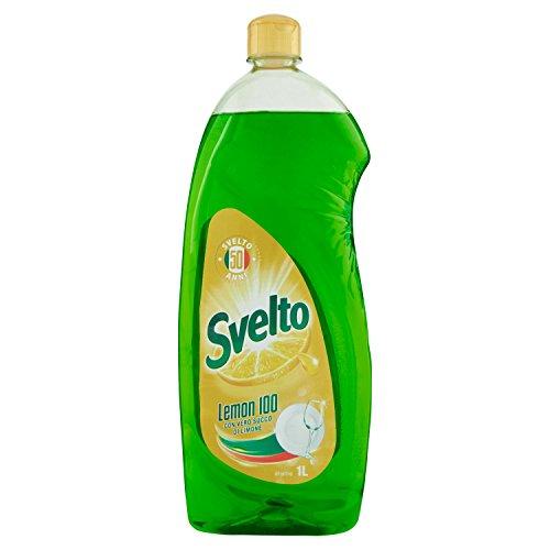 Svelto Detergente per Stoviglie a Mano con Fragranza al Limone – 1075 ml
