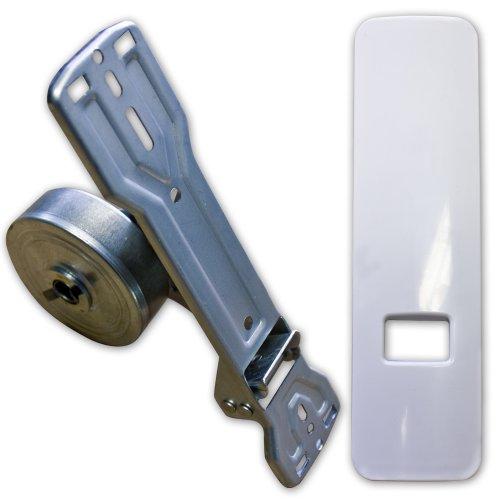 Avvolgitore per Tapparelle con design della piastra di copertura distanza tra i fori 135mm–185mm regolabile per tapparelle/Rolladen (per 20–24mm di cinghia)