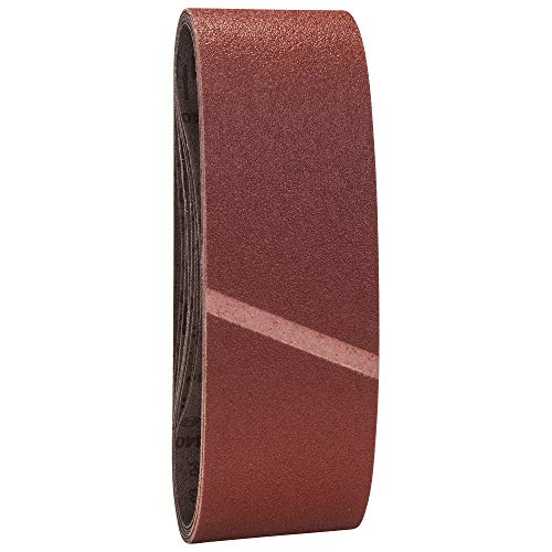 Bosch 2607017155 Set 9 Nastri Abrasivi, 75 x 533 mm, P60/80/100