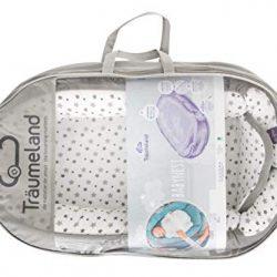 Baby's Comfort – Set di biancheria da letto per bambino, 2 pezzi, con copripiumino reversibile + federa 2