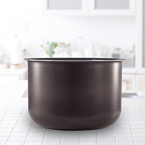 Instant Pot 6L Pentola di Cottura Interna in Ceramica Antiaderente per la pentola a Pressione elettrica 4
