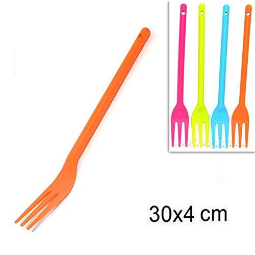 CommercioEuropa Forchetta da Cucina in Plastica – 30cm 2