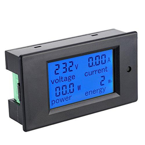 KKmoon Ac80-260V 100A Digitale LCD Corrente Tensione Potenza Attiva rilevamento Tester amperometro voltmetro Multi-Funzionale contatore di energia con induttore