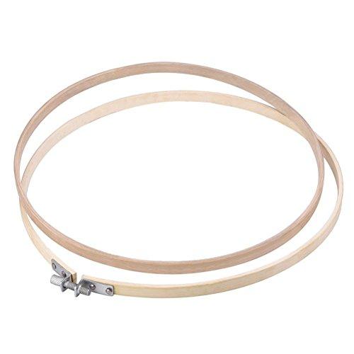 Pixnor 9 pollici Tambour ricamo cerchio ricamo Cross Stitch cerchio anello Bamboo 3