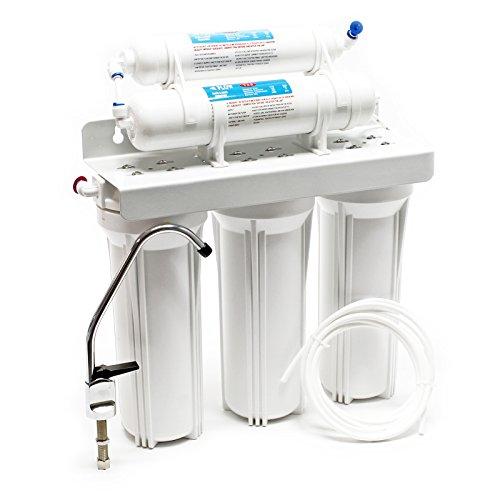 Naturewater NW-PR305 Filtro acqua a 5 stadi con rubinetto e valvola a 3 vie