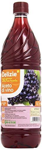 Delizie – Aceto Di Vino Rosso – 1000 Ml 2