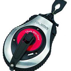 Tajima CR401SD – Strumento di marcatura con corda a percussione, sistema di sgancio rapido e marcatura di tutte le superfici, rimozione e ritiro rapido 1.0 mm x 30 m 2