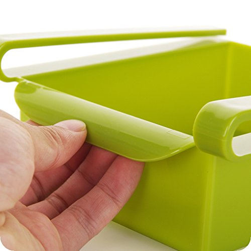 Uzinb Multi Function ABS Refrigerator Storage Box Sliding Drawers Design Storage Box 8