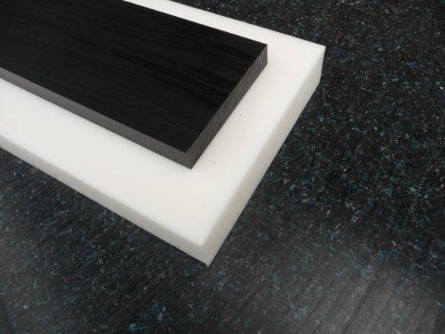 Lastre POM naturale (bianco) 1000 x 500 x 10 mm piastra Acetal Pannello alt-intech®