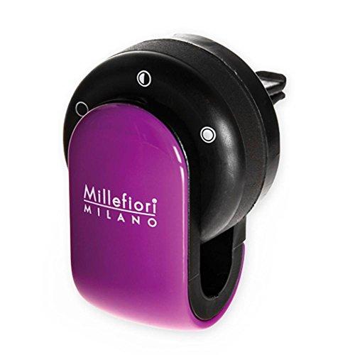 Millefiori 8059265190010 Diffusore di prufumo per Auto Go Colore Viola, Multicolore, Unica