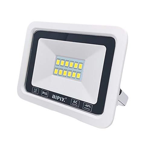 MOMEX Faretti LED da esterno da 10W alta luminosità Faro led Impermeabile IP65 per Giardino Cortile Lampada Luce Potente Bianco Caldo (3000K)