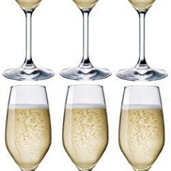 Rocco Bormioli Bicchieri Divino FLUT Cl 24 – confezione da 6 pz … 2