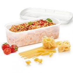 Tescoma 705026 Purity Microwave Cuoci Pasta, Plastica, Bianco, 33.29 x 14.4 x 10.5 cm