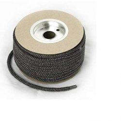 Stufa nero Porta computer in fibra di vetro corda kit 5mm x 2m standard corda