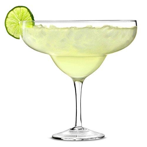 bar@drinkstuff Bicchiere da cocktail da 1,3 litri Margarita-Giant Decorative Sharer Glass per centrotavola di bevande e tavoli